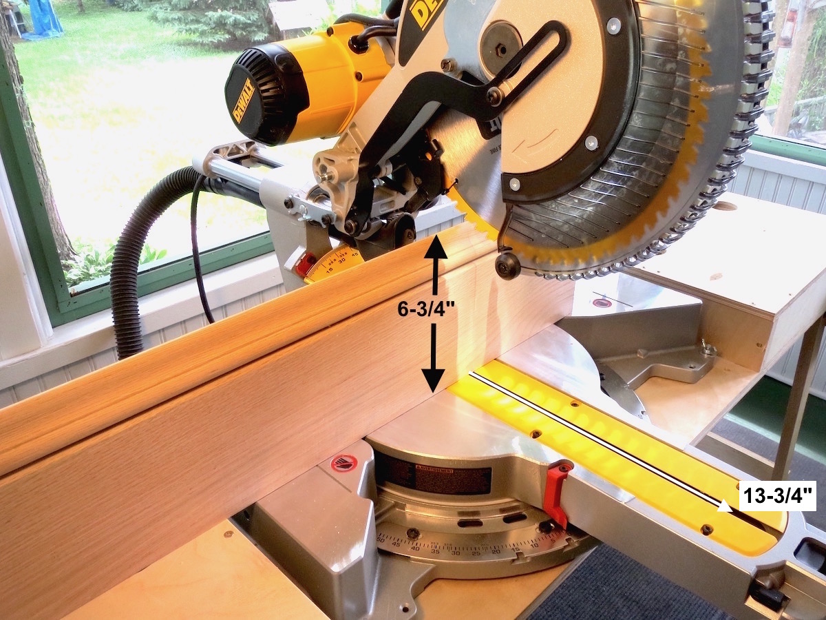 "DeWalt DWS780 12"" Dual Bevel vertical cut mitersaw"