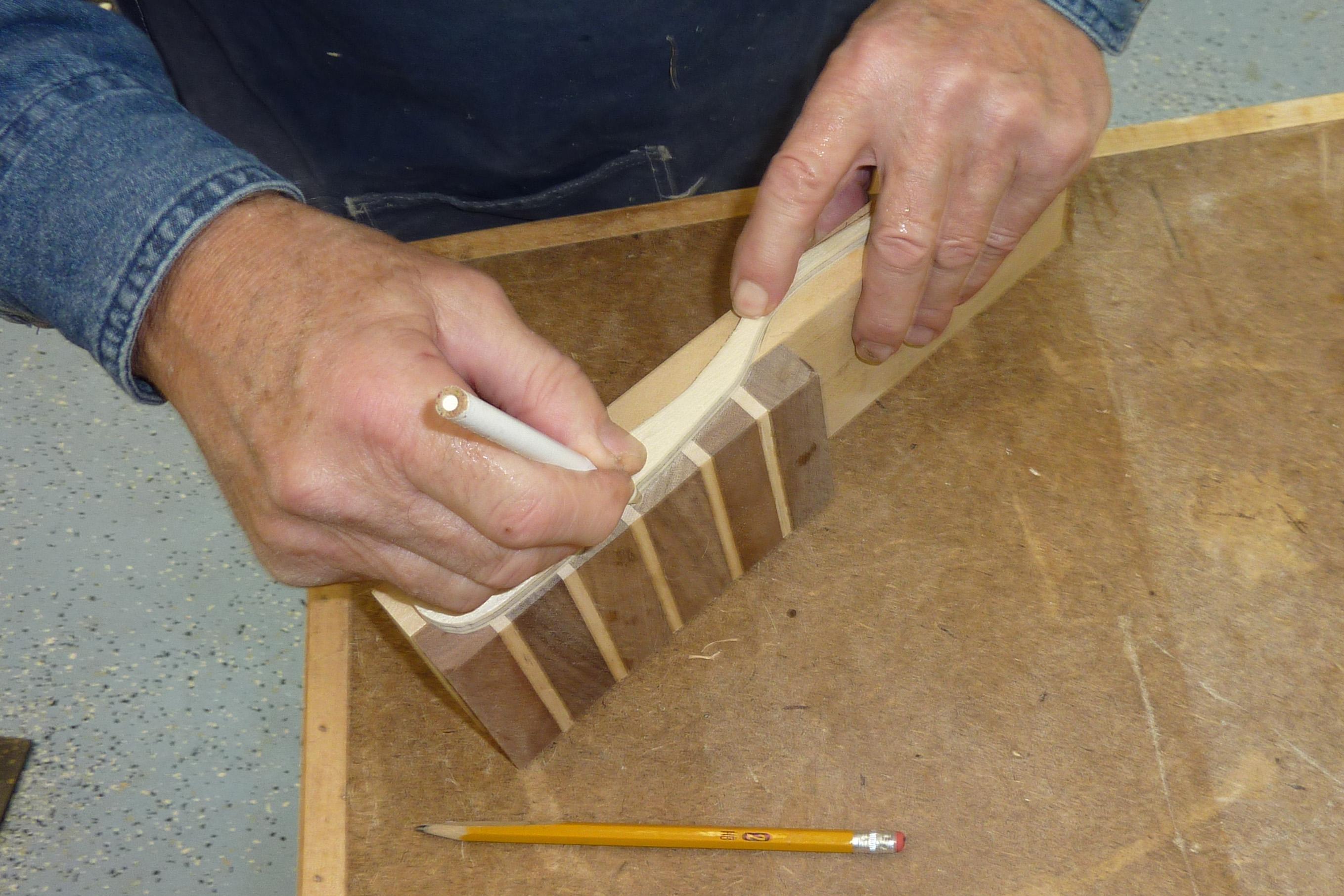 making wooden kitchen utensils