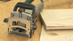 How to Use a Biscuit Joiner: Registering off the Bottom