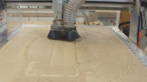 Fly Cutting a CNC Spoilboard