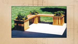 Planter Bench Plan