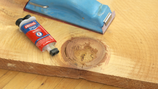 Using Epoxy for Wood Cracks