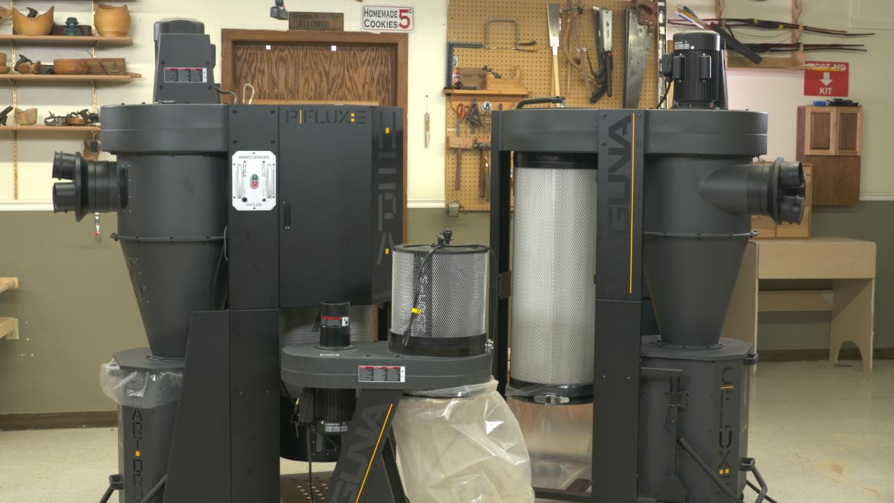 Dust Collection Systems From Laguna Woodworkers Guild Of