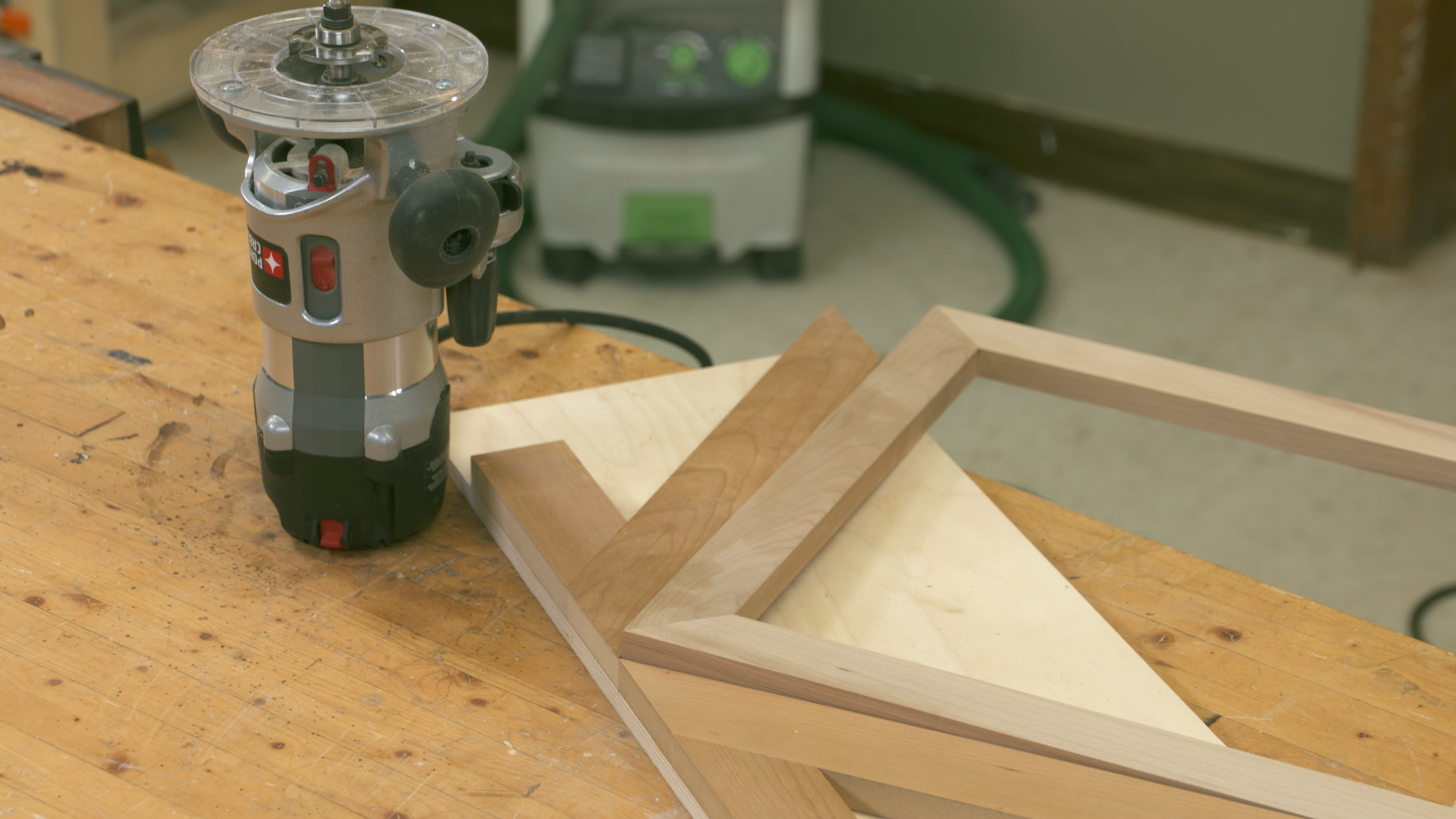 Simple Spline Cutting Jig For Mitered Frame Wwgoa