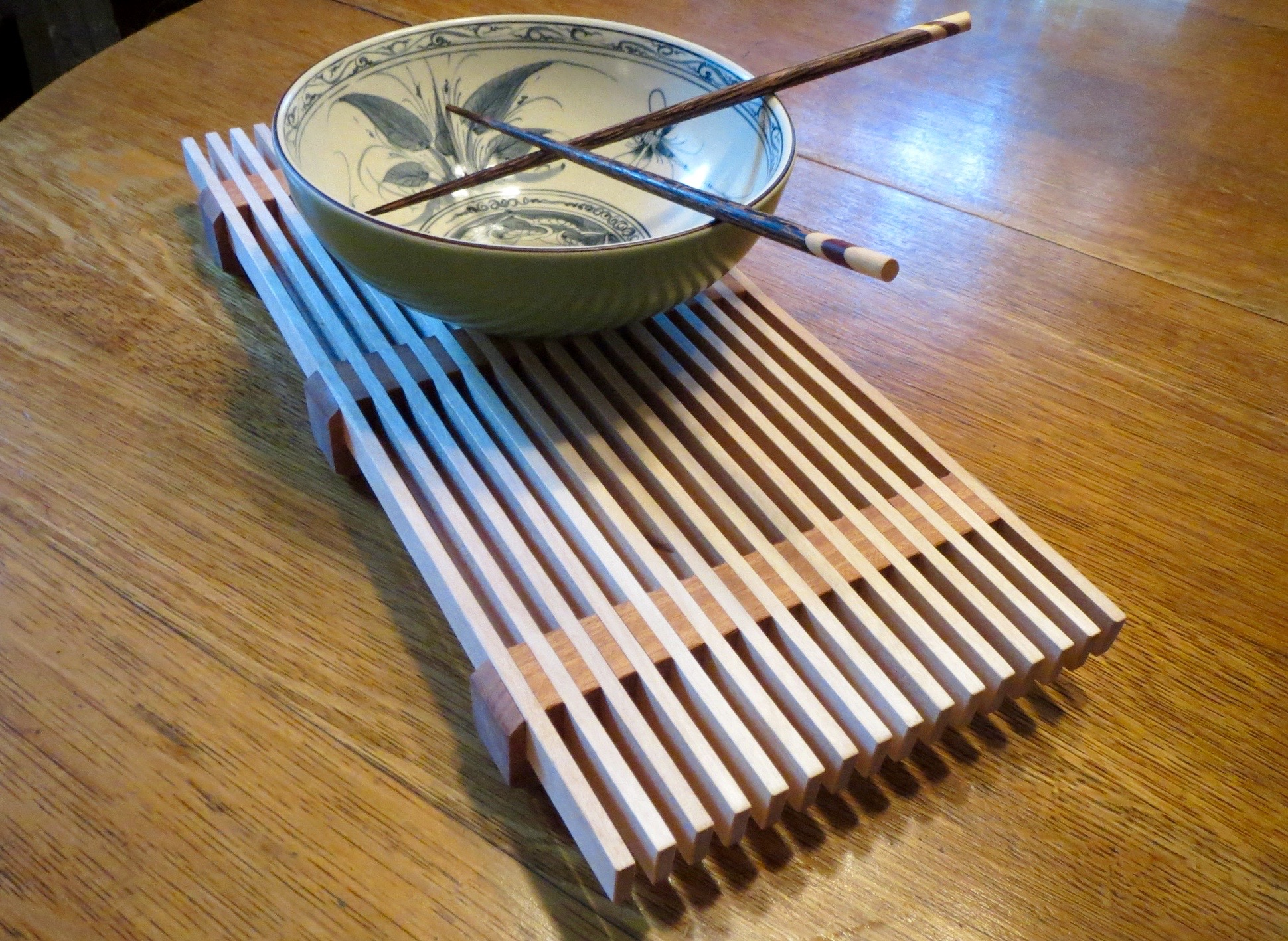 How To Make A Sapele And Birch Trivet