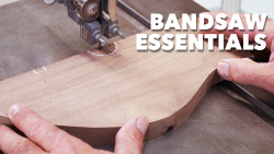 Hero Image 2nd - Bandsaw Essentials