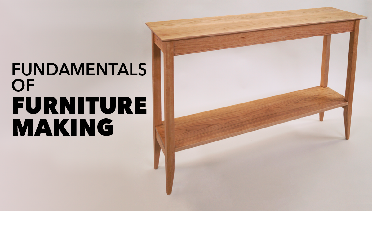Fundamentals of Furniture Making Class DVD | WoodWorkers Guild of America
