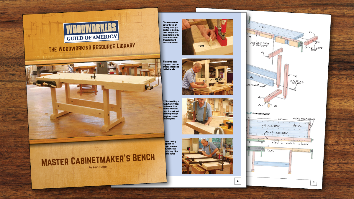 Pleasing Master Cabinetmakers Bench Plan Home Interior And Landscaping Synyenasavecom