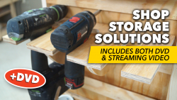 Shop Storage Solutions + DVD