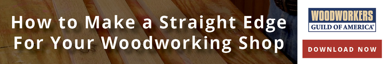 How to Make a Straight Edge for your Woodworking Shop