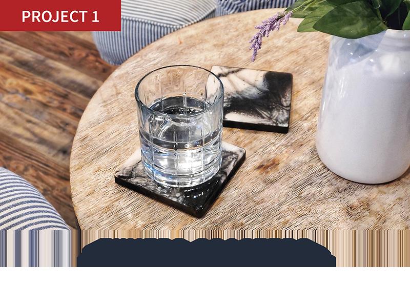 Tuxedo Coasters