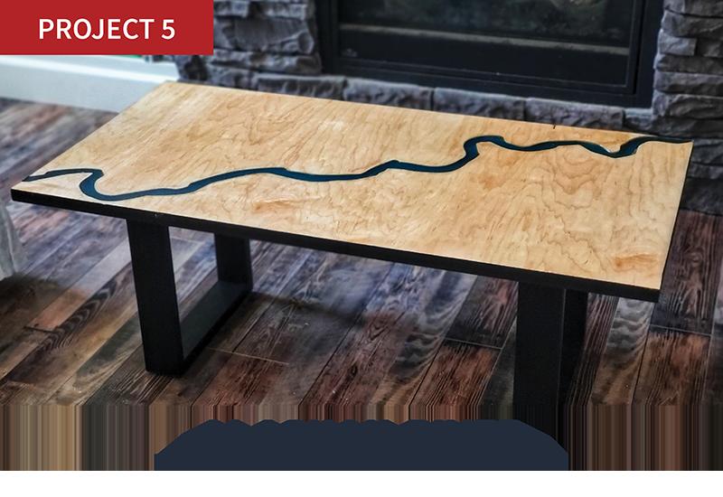 Alaskan River Table