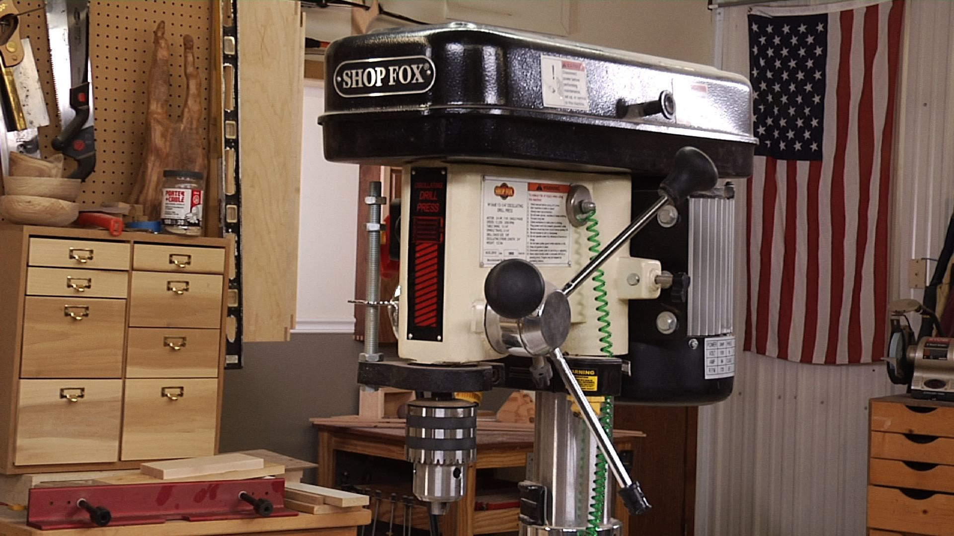 Sharpen Your Skills - Drill Press Safety