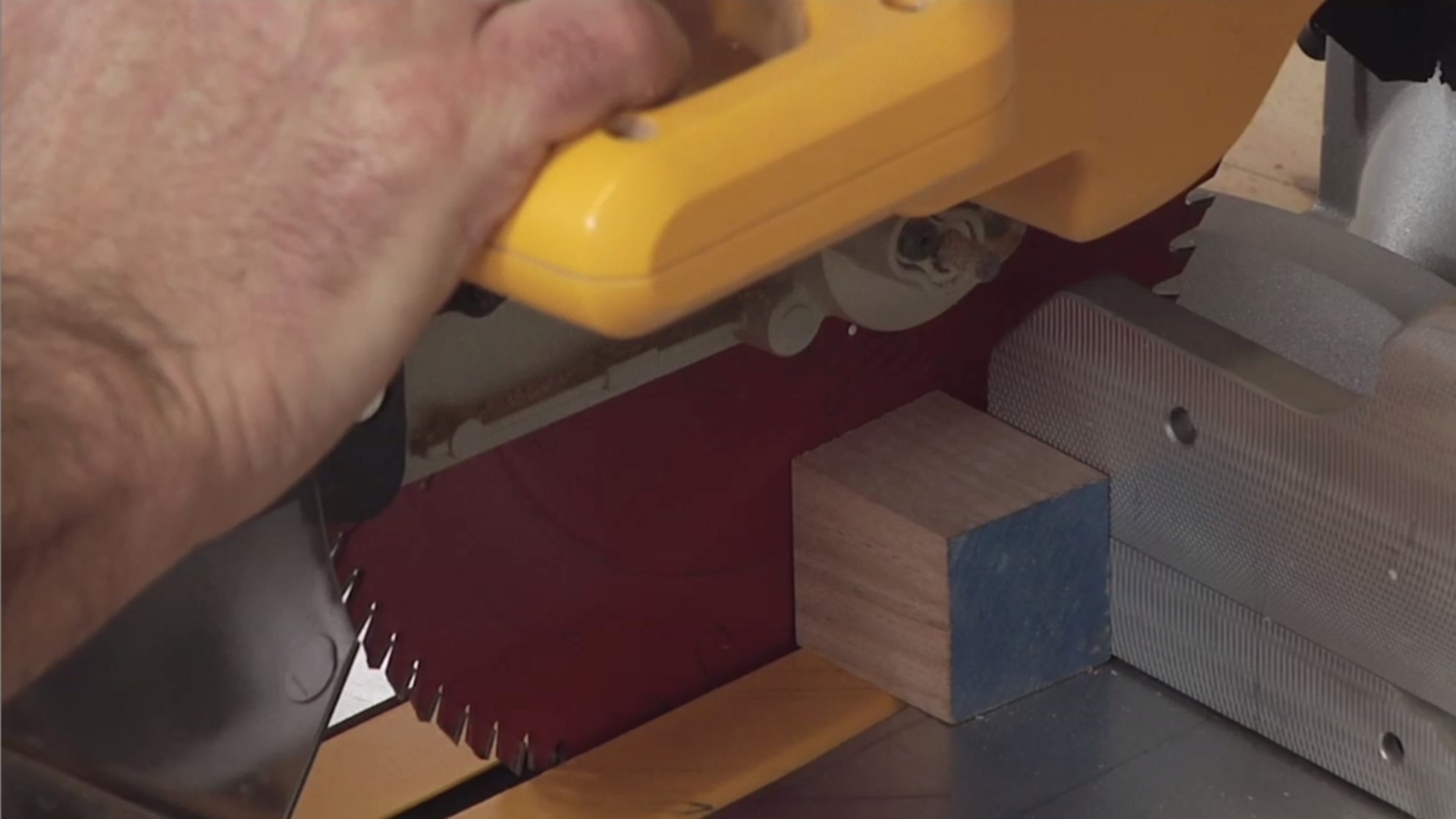Sharpen Your Skills - Miter Saw Safety Tips
