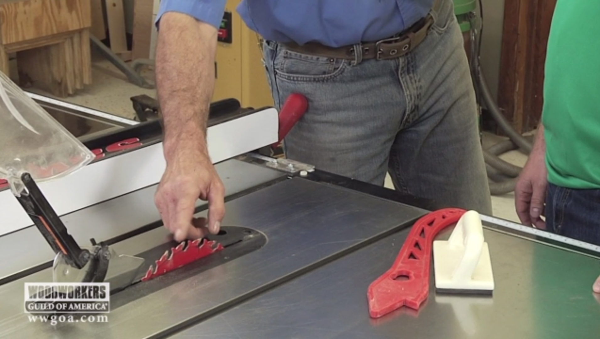 Sharpen Your Skills - Table Saw Safety for Beginner Woodworking