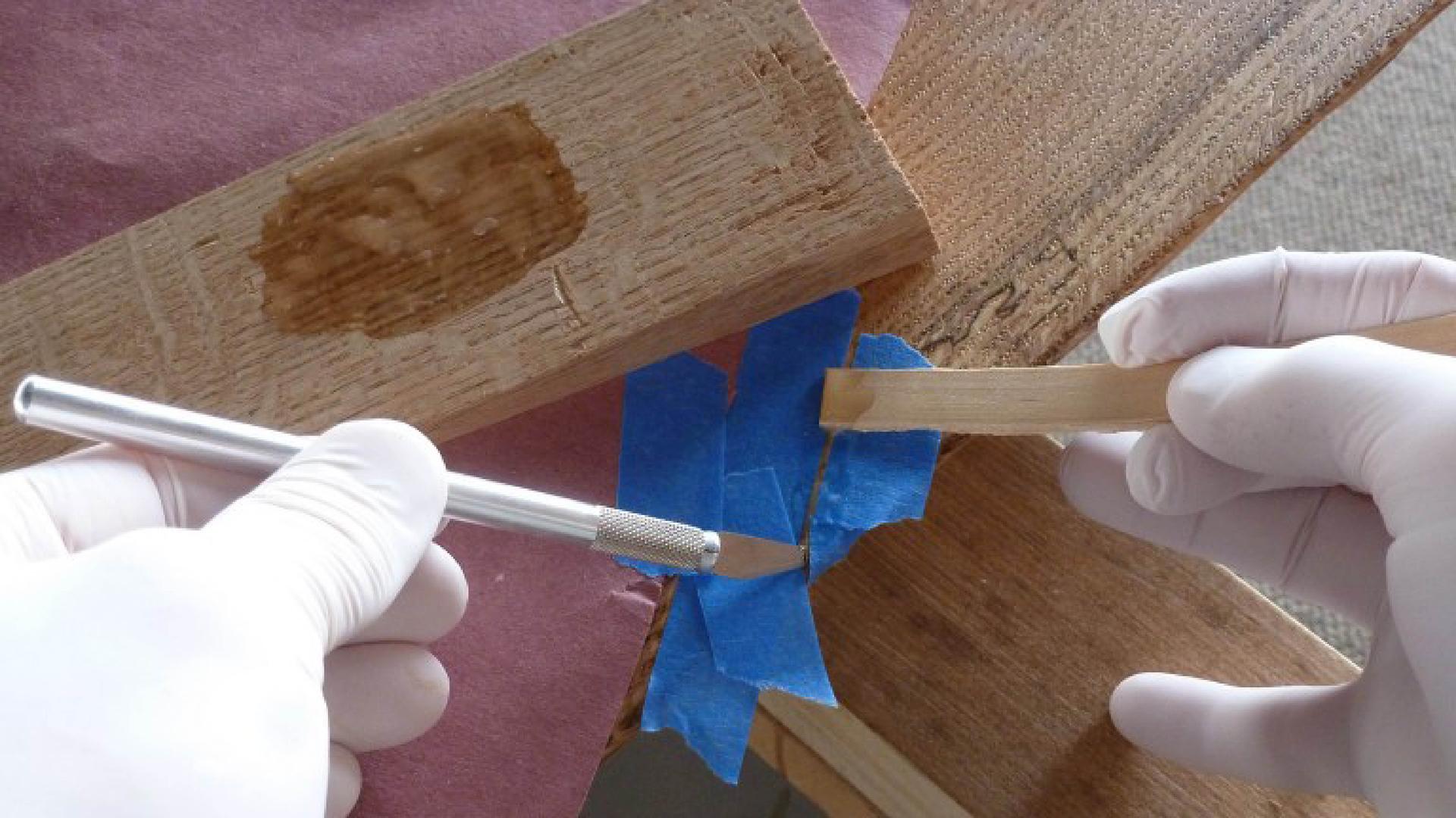 Woodworking Restoration Guide - Table Top Fracture Repair