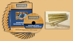 WGA D1044Q Woodworking Tools – Professionals Training Edition 10-DVD Pack + FREE Brass Gauges