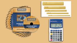 WGA D1047Q Tricks of the Trade 9 DVD Set + FREE Brass Gauges and Calculator