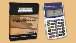 WGA D1049Q Essentials of Woodworking Boxed Set + Home Project Calc