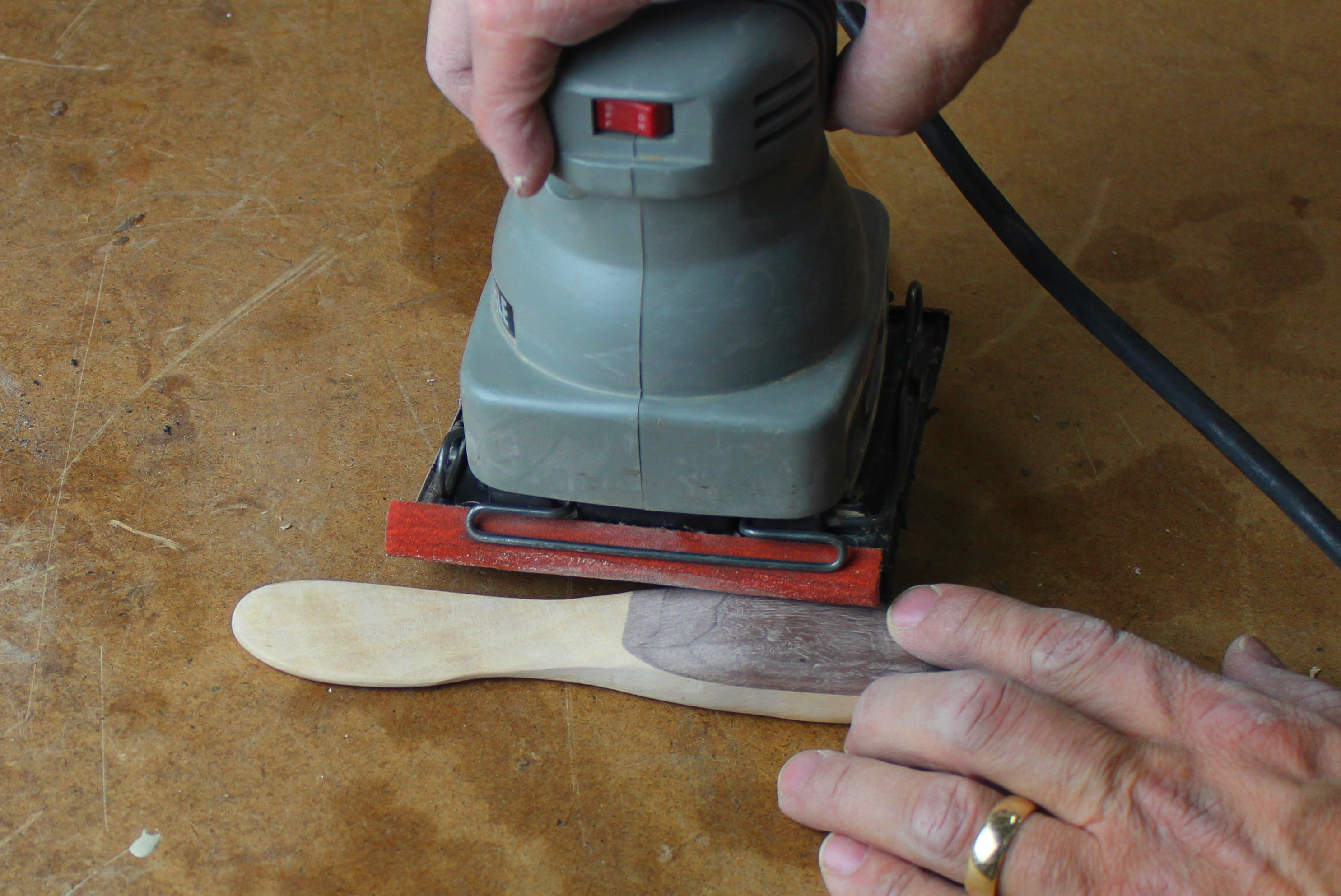 sand knife