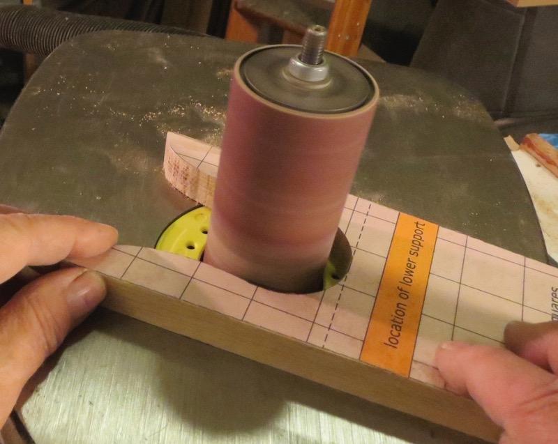 drumsanding curve