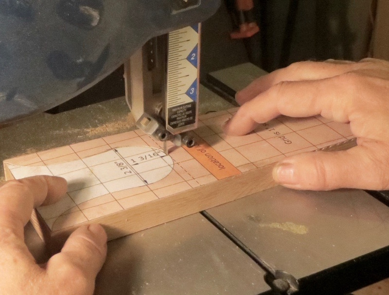bandsaw template