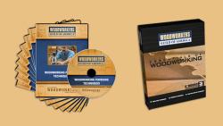 WGA D1051Q Finishing Techniques 9 DVD Set + FREE Essentials of WW