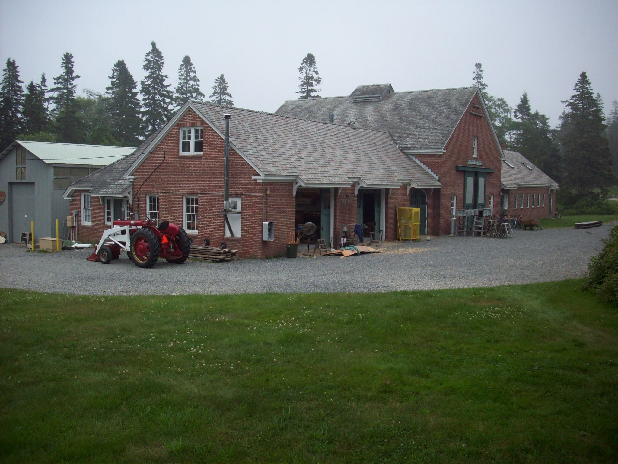 The WoodenBoat School's shop