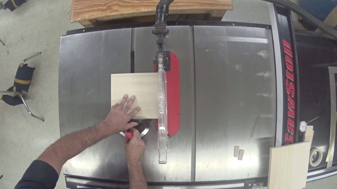 getting started on a table saw