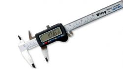 WGA D1046J Wixey Digital Calipers With Fractions