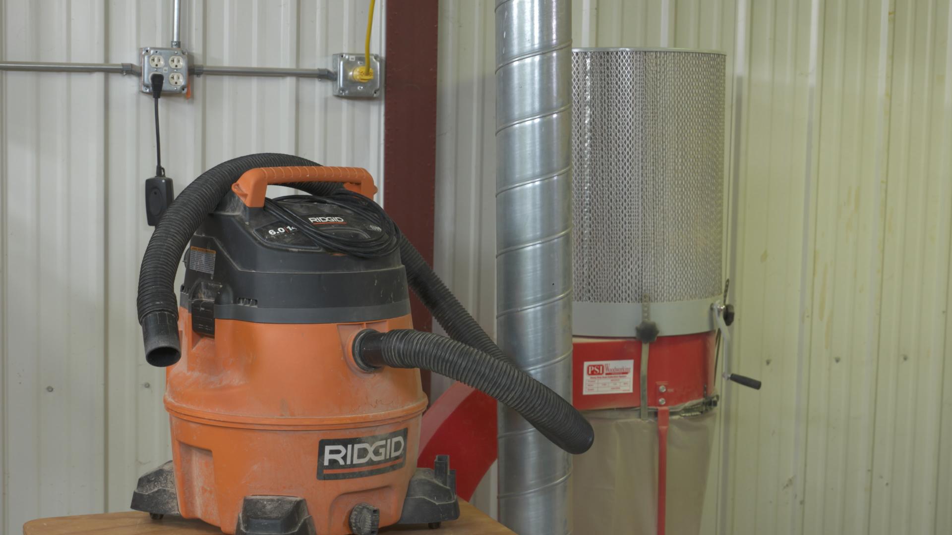 Shop Dust Collection: Shop Vacuum vs. Dust Collector