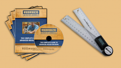 WGA D1054Q Tools of the Trade 4DVD Set + FREE Protractor-Rule