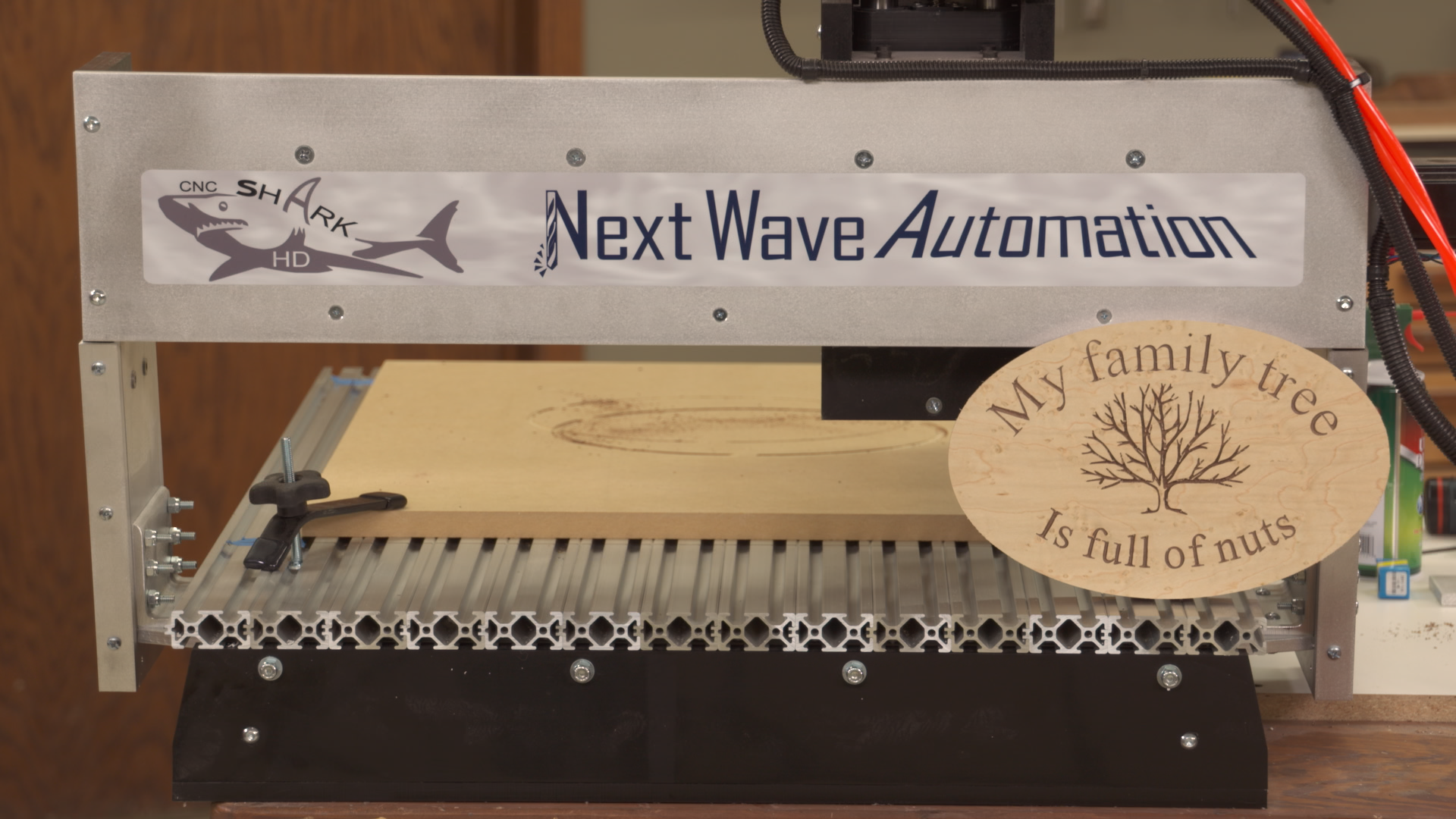 Engraving Letters and Artwork with a CNC Router